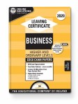 2020 Exam Papers Leaving Cert Business Higher and Ordinary Level Ed Co