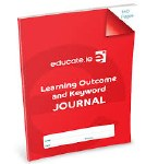 Learning Outcome and Keyword Journal 160 Pages Educate