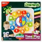 Little Hands Wooden Clock Puzzle