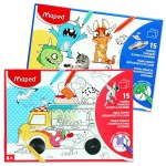 Magic Colouring Sheets 15 A4 Maped
