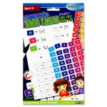 Clever Kidz Magnetic Time Tables Set