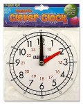 Clever Kidz Magnetic Clever Clock 15cm