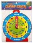 Clever Kidz Magnetic Clever Clock 23cm