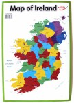 Wall Chart Map Of Ireland