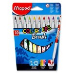 Maped Color'Peps Brush Felt Pen 10 Pack