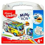 Maped Creativ Mini Box Customizable Paper Toy Van