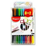 Maped 8+2 Graph Peps Duo 0.4mm Fineliner Pens