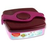 Picnik Origins 520ml Twist Lunch Box Pink Maped