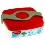 Picnik Origins 520ml Twist Lunch Box Red Maped