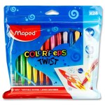Color'Peps Twistable Crayons 24 Pack Maped