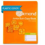 Copy Maths 20mm Square 40 Page Ormond with Plastic Cover
