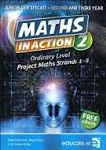 Maths In Action 2 Ordinary Level Junior Cert with Free E Book Educate
