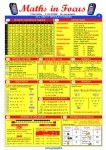 Maths in Focus Glance Card Graspit