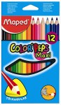 Colouring Pencils Maxi Maped 12 Pack
