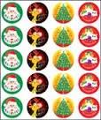 Merit Stickers Pack Of 100 Christmas Great Work Prim Ed