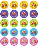 Merit Stickers Pack Of 100 Clown Great Job Prim Ed