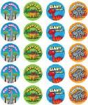 Merit Stickers Pack Of 100 Dinosaurs Giant Effort Prim Ed