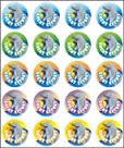 Merit Stickers Pack Of 100 Dolphin Great Effort Prim Ed