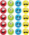 Merit Stickers Pack Of 100 Funny Smileys Prim Ed