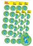 Merit Stickers Pack Of 60 Stickers Easter I am a good Listener Prim Ed