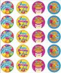 Merit Stickers Pack Of 100 Happy Birthday Prim Ed