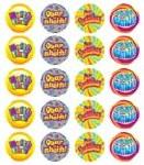 Merit Stickers Pack Of 100 Irish Obair Mhaith Prim Ed