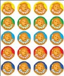 Merit Stickers Pack Of 100 Lion Grrreat Prim ed