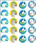 Merit Stickers Pack Of 100 Polar Animals Well Done Prim Ed
