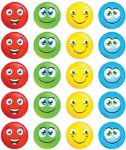 Merit Stickers Pack Of 100 Smiley Face Prim Ed
