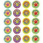 Merit Mini Stickers Pack of 280 Smiley Stars Prim Ed