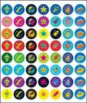 Merit Mini Stickers Pack of 280 Space Prim Ed