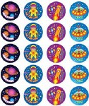 Merit Stickers Pack Of 100 Space Out of This World Prim Ed