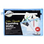 Document Mesh Wallet Extra Durable Cornflower Blue A4+