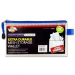 Document Mesh Wallet DL Extra Durable Transparent White
