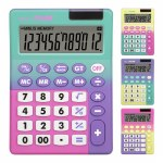 Milan 12 Digit Desk Calculator Sunset