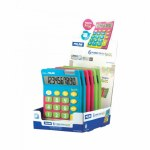 Milan MIX Desk Calculator Multi Coloured 10 Digit