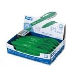 Milan P1 Soft Touch Retractable Ballpen Green