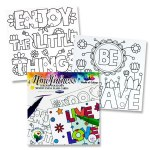 Adult Mindfulness Colouring Flash Cards