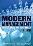 Modern Management Theory and Practice for Students in Ireland Gill and MacMillan