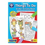 More Things To Do Sticker Colouring Book Orchard Toys