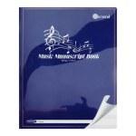 Music Manuscript Copy 12 Stave Durable Cover