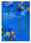 Music Manuscript A4 12 Stave 24 page Supreme