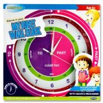 Clever Kidz My First Wall Clock Easyread 34cm