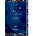 Oxford Style Manual The Worlds Most Trusted Reference Book