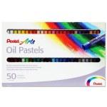 Pentel Arts 50 Oil Pastels