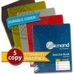 Ormond 5 Pack 120pg Copies with Durable Covers Bold