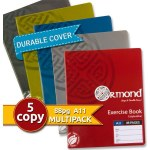 Ormond 5 Pack 88pg Copies with Durable Covers Bold