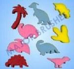 Paint Sponges Dinoasurs 9 Pack