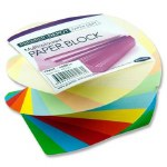 Paper Block Twisted 500 Multicoloured Sheets