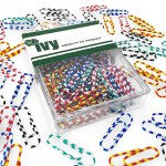 IVY Paper Clips Striped 28mm 50 Pack